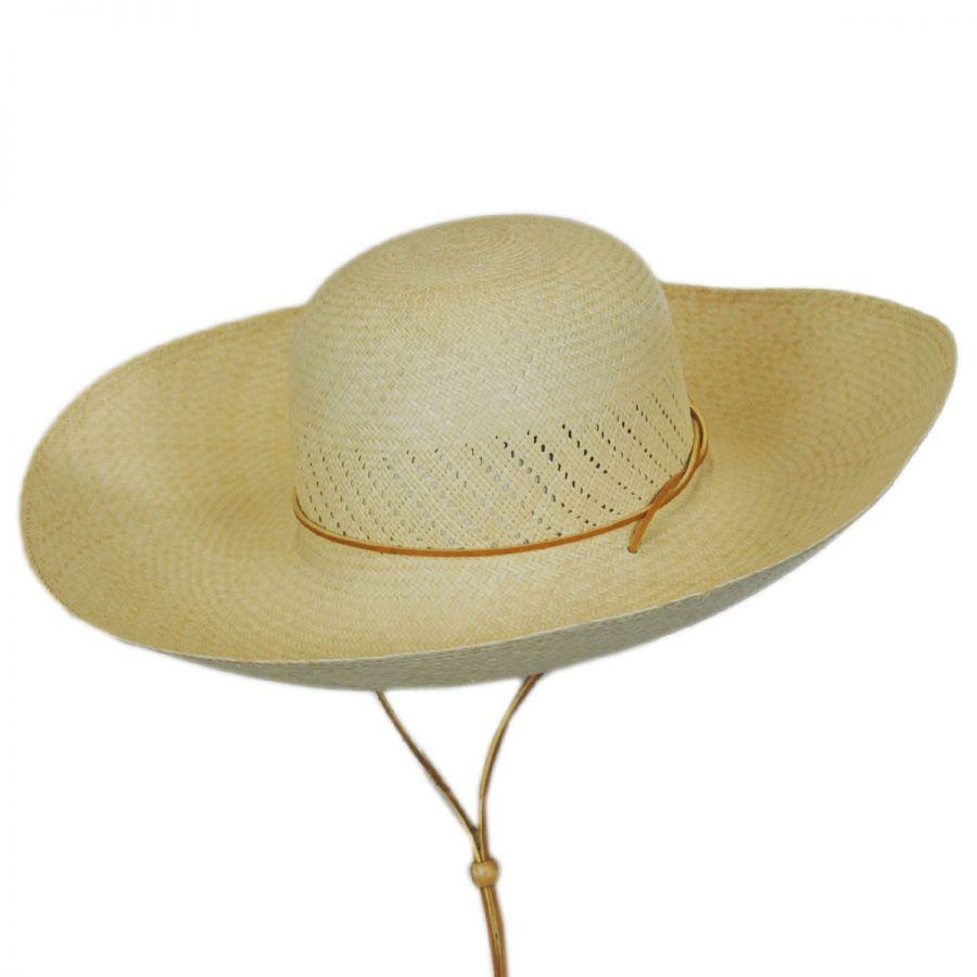 San Francisco Hat Co. Panama Straw Wide Brim Hat Straw Panamas 209493a5ab5