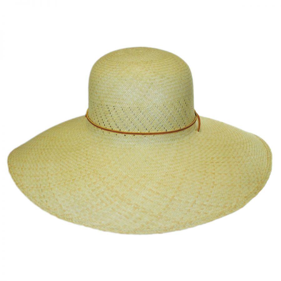 San Francisco Hat Co. Panama Straw Wide Brim Hat Straw Panamas 211d50d14