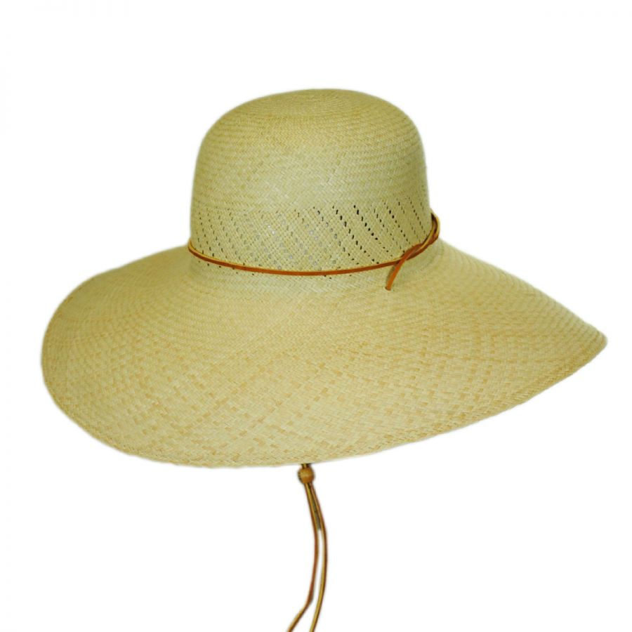 San Francisco Hat Co. Panama Straw Wide Brim Hat Straw Panamas d6a2f22495