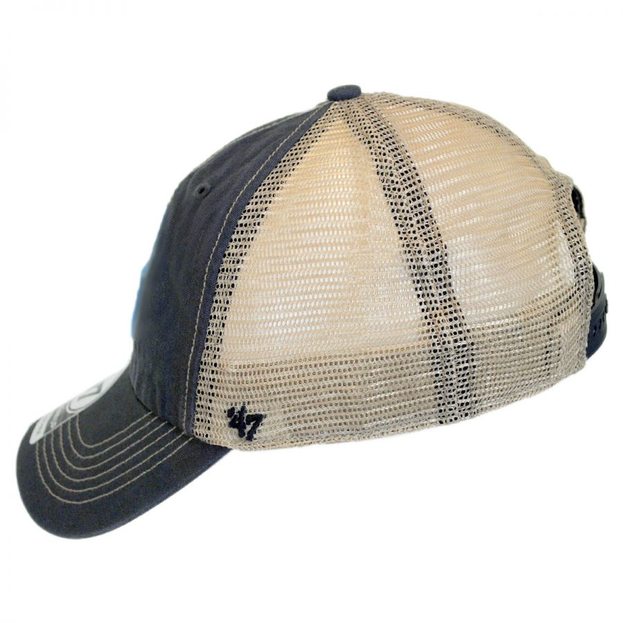 20089418765 47 Brand Indianapolis Colts NFL Tuscaloosa Mesh Fitted Baseball Cap ...