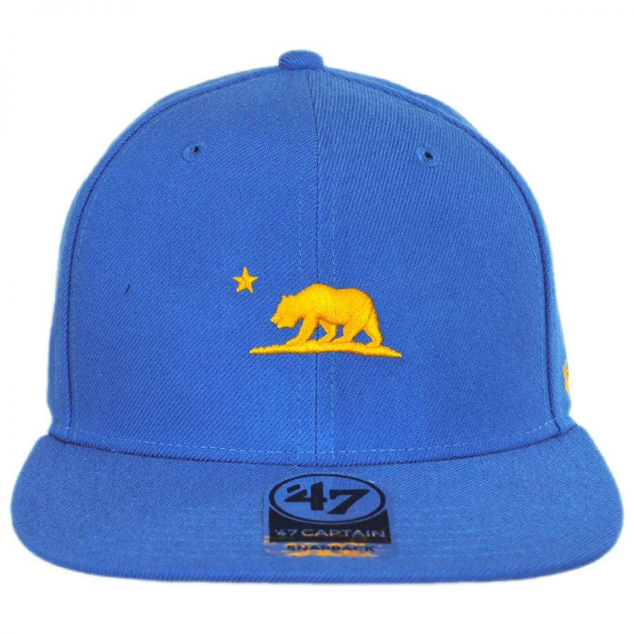 47 Brand Mini Cali Bear Snapback Baseball Cap All Baseball
