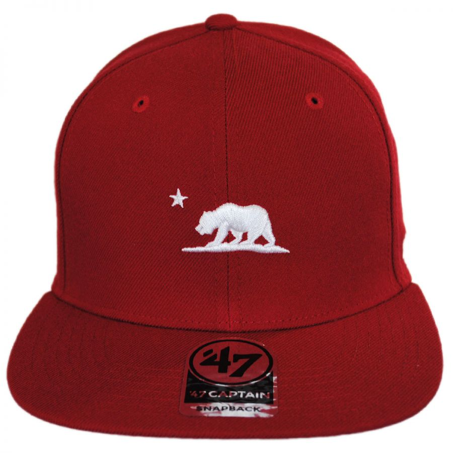 47 Brand Mini Cali Bear Snapback Baseball Cap All Baseball