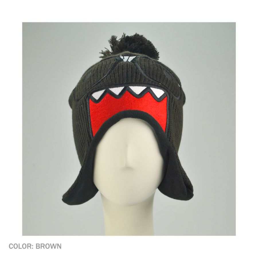 64cf815aed5 Domo Nerd Domo Knit Pom Peruvian Beanie Hat Beanies