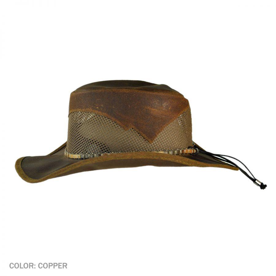 Durango Dapple Band Leather Western Hat in 71f8d6b16e6