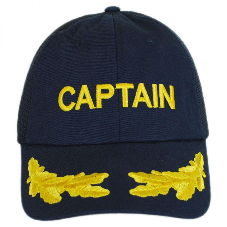 dorfman pacific captain mesh strapback baseball cap all