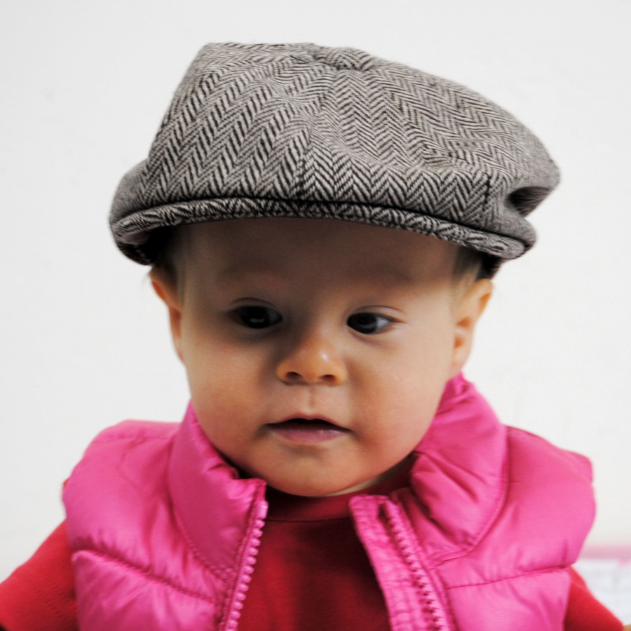 ca99d33e0cf88 Jaxon Hats Baby Herringbone Wool Blend Newsboy Cap Baby and Toddlers