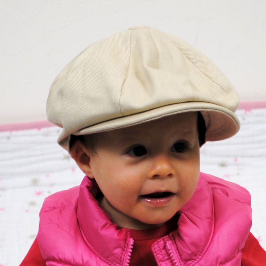 cb48ac75 Jaxon Hats Baby Cotton Newsboy Cap Baby and Toddlers