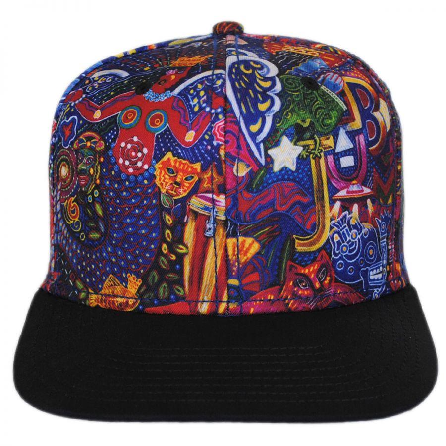 Carlos Santana Supernatural Snapback Baseball Cap Snapback Hats
