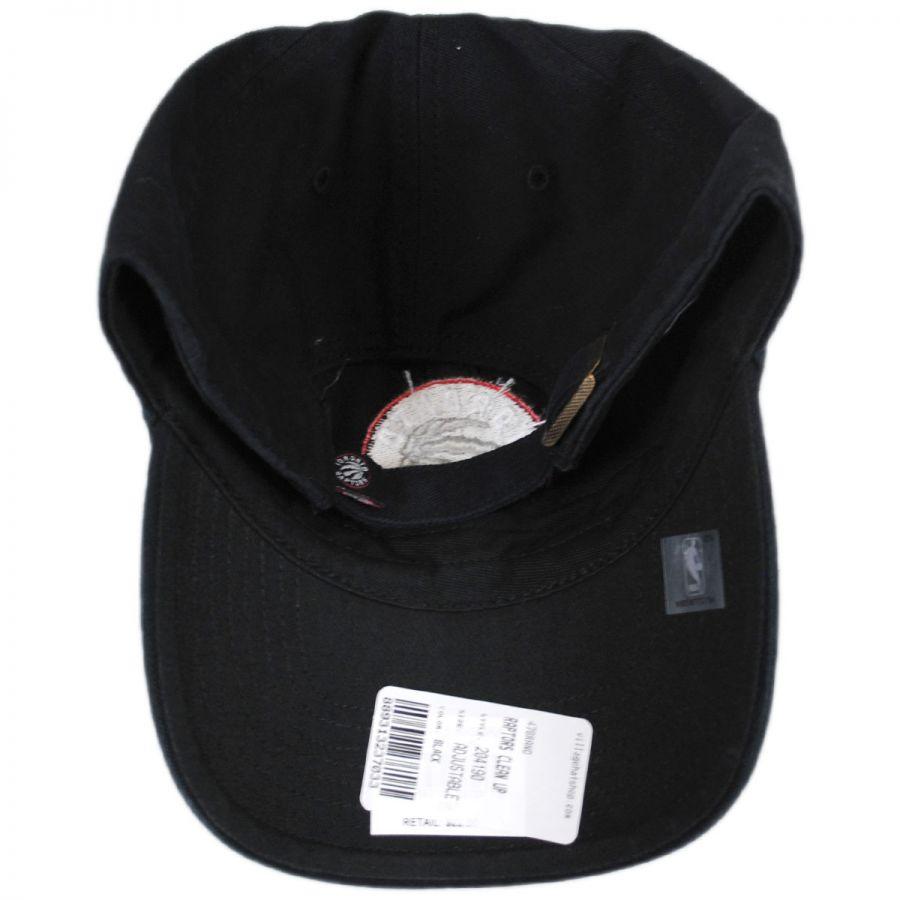 47 Brand Toronto Raptors NBA Clean Up Strapback Baseball Cap Dad Hat ... 87b446a63d2