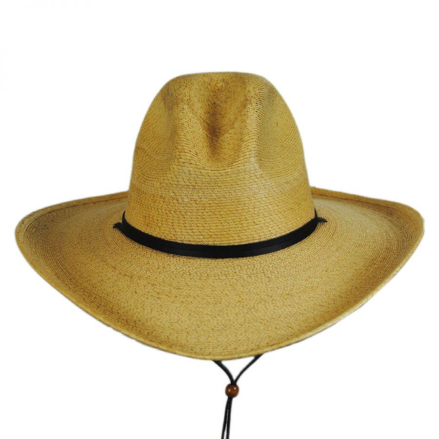Stetson Bryce Palm Leaf Straw Wide Brim Gus Hat Straw Hats cc60126482a