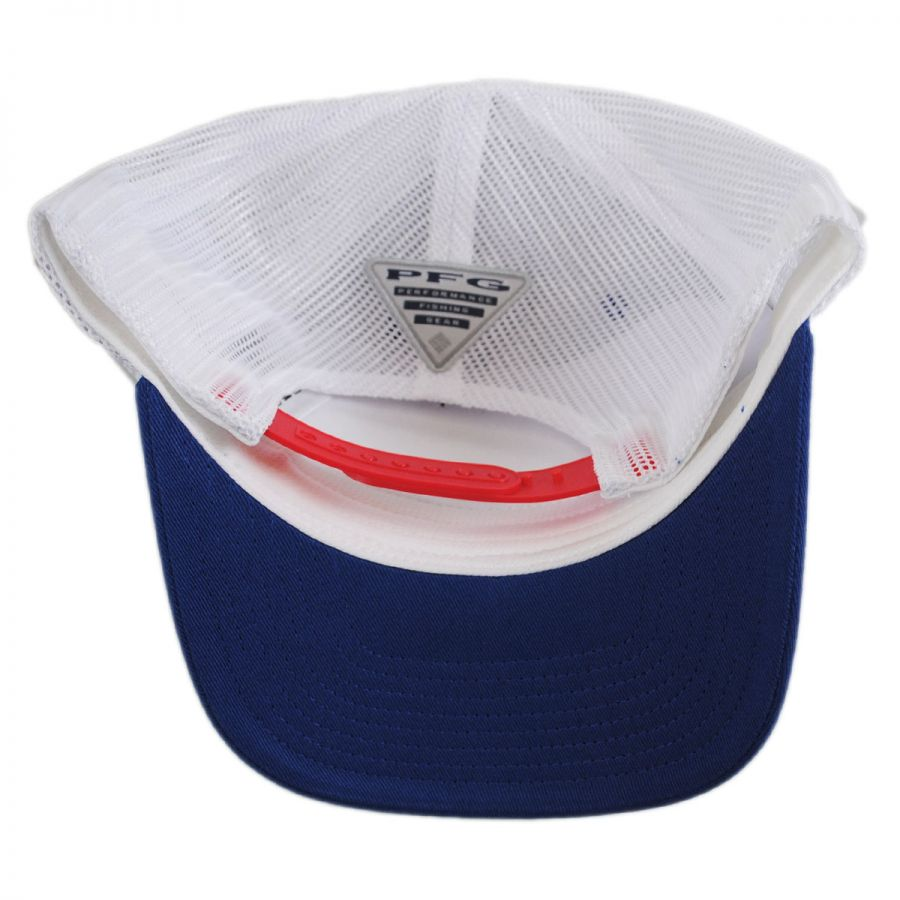 e10d523fa60 Columbia Sportswear PFG Mesh Trucker Snapback Baseball Cap Snapback Hats