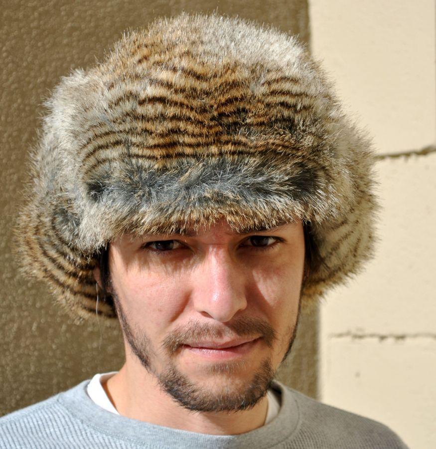 8395241d6 Wolverine Faux Fur Trapper Hat