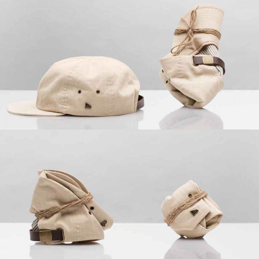 Packable 19Twenty Strapback Baseball Cap Dad Hat in · EK Collection by New  Era 072082ecb83