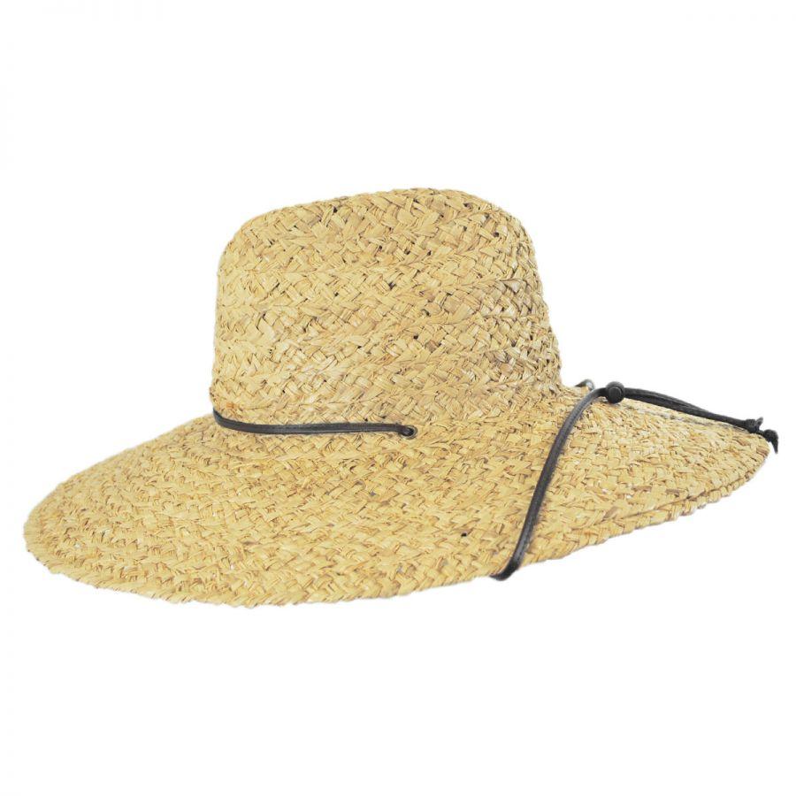 06316e37d80 Organic Raffia Straw Lifeguard Hat in · Organic Raffia Straw Lifeguard Hat  in · Dorfman Pacific Company