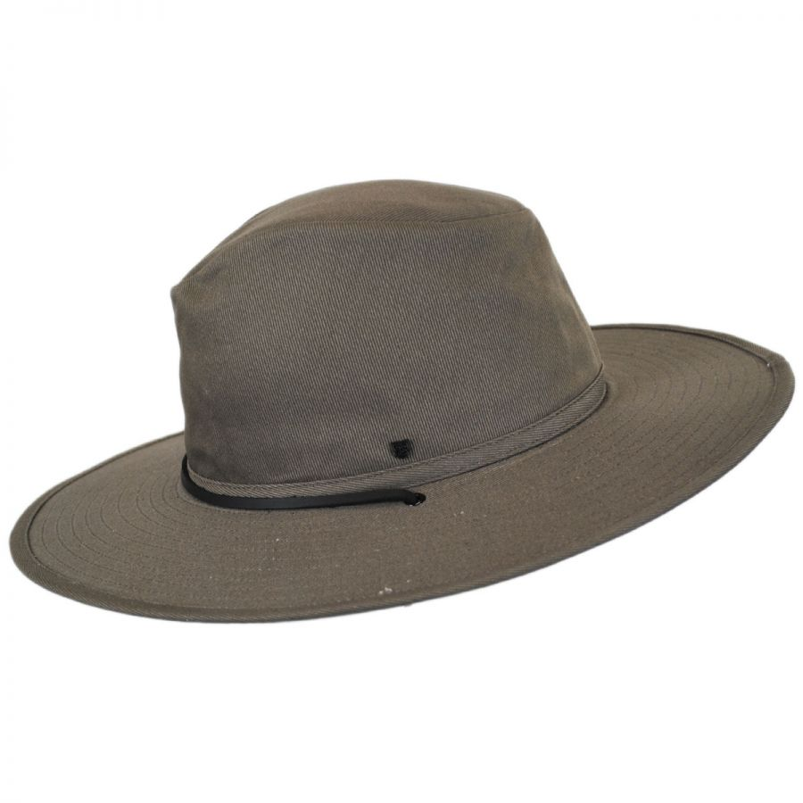 15cecc3f1876df Brixton Hats Ranger Canvas Chincord Aussie Hat View All