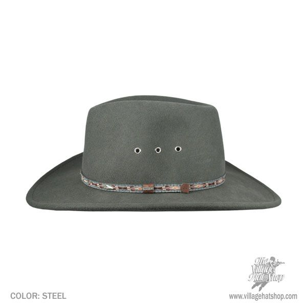 Stetson Elkhorn Wool Felt Western Hat Western Hats 5763fac8a13