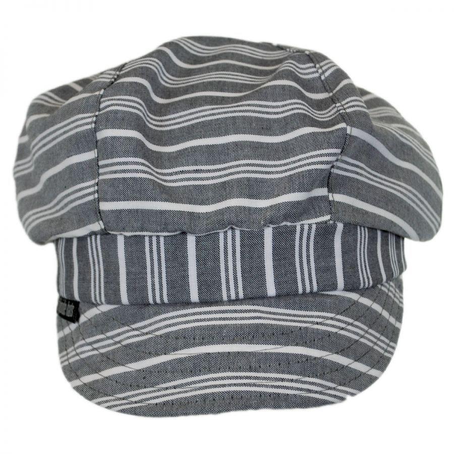Flipside Marty Pearl Cotton Cap Newsboy Caps 6816a40744a