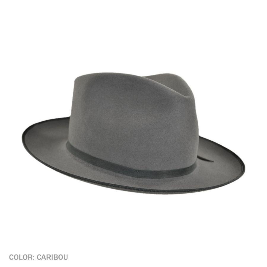 Stetson Stratoliner Fur Felt Fedora Hat All Fedoras 2121290d6ac