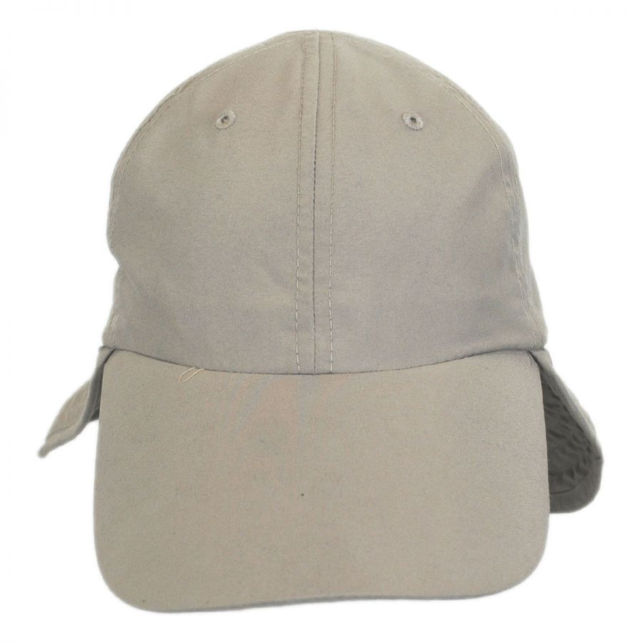 Panama jack fishing flap baseball cap all baseball caps for Long bill fishing hat