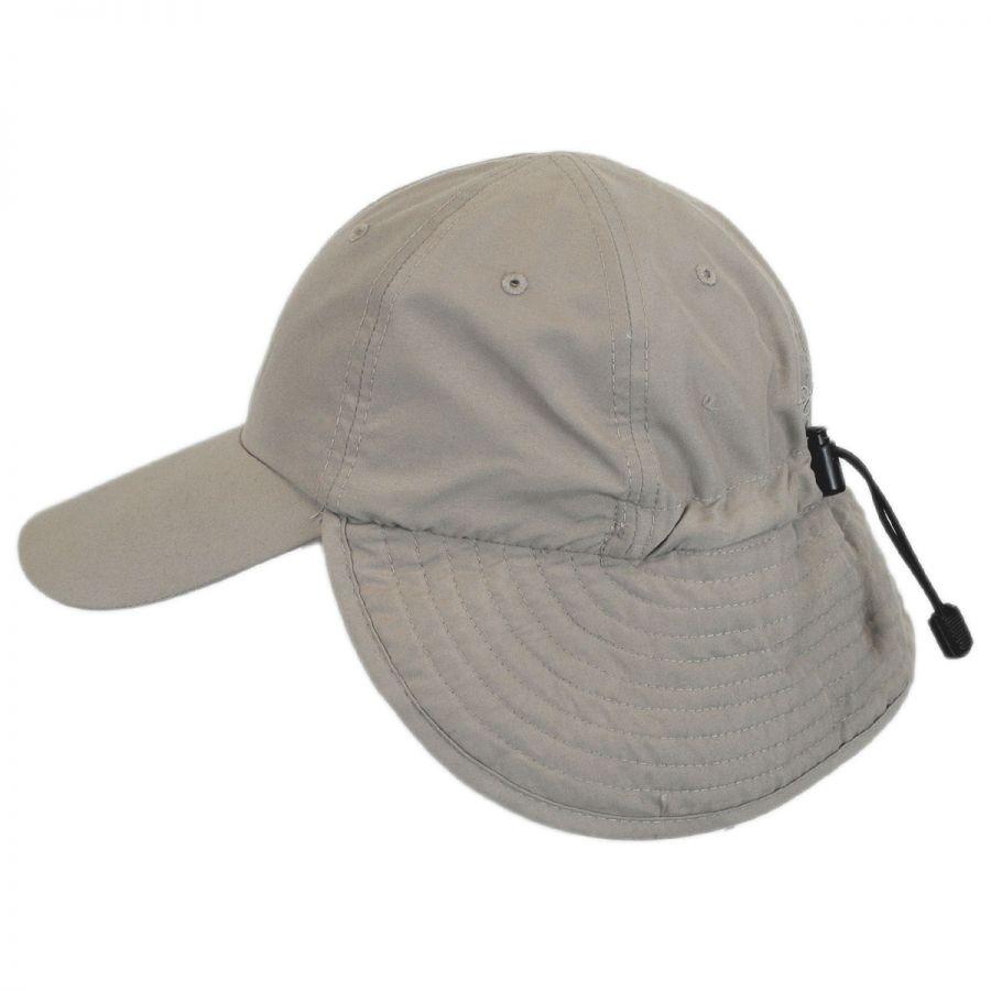 Panama jack fishing flap baseball cap all baseball caps for Fishing baseball caps