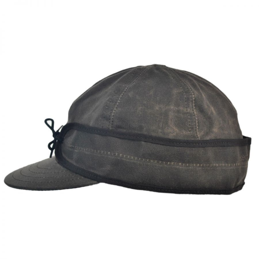 Stormy Kromer Waxed Cotton Cap Cold Weather 9bddc641171