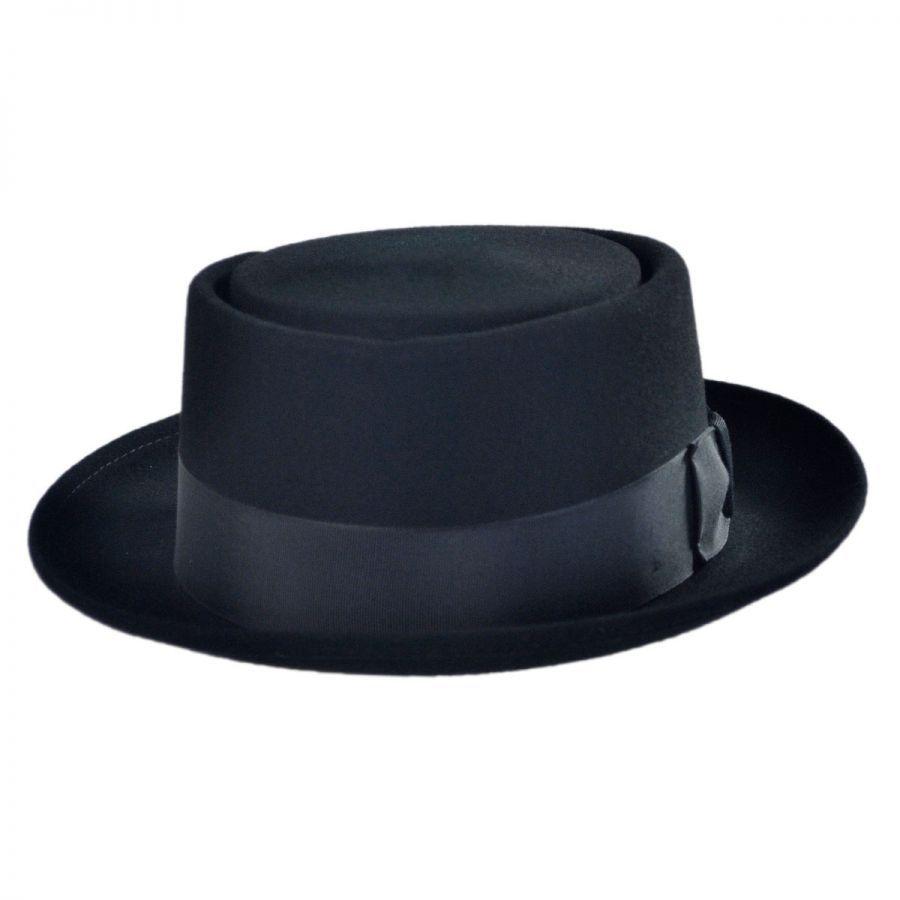 Bollman Hat Company 140 - 1940s Pork Pie Hat Pork Pie Hats 935a48d27ee