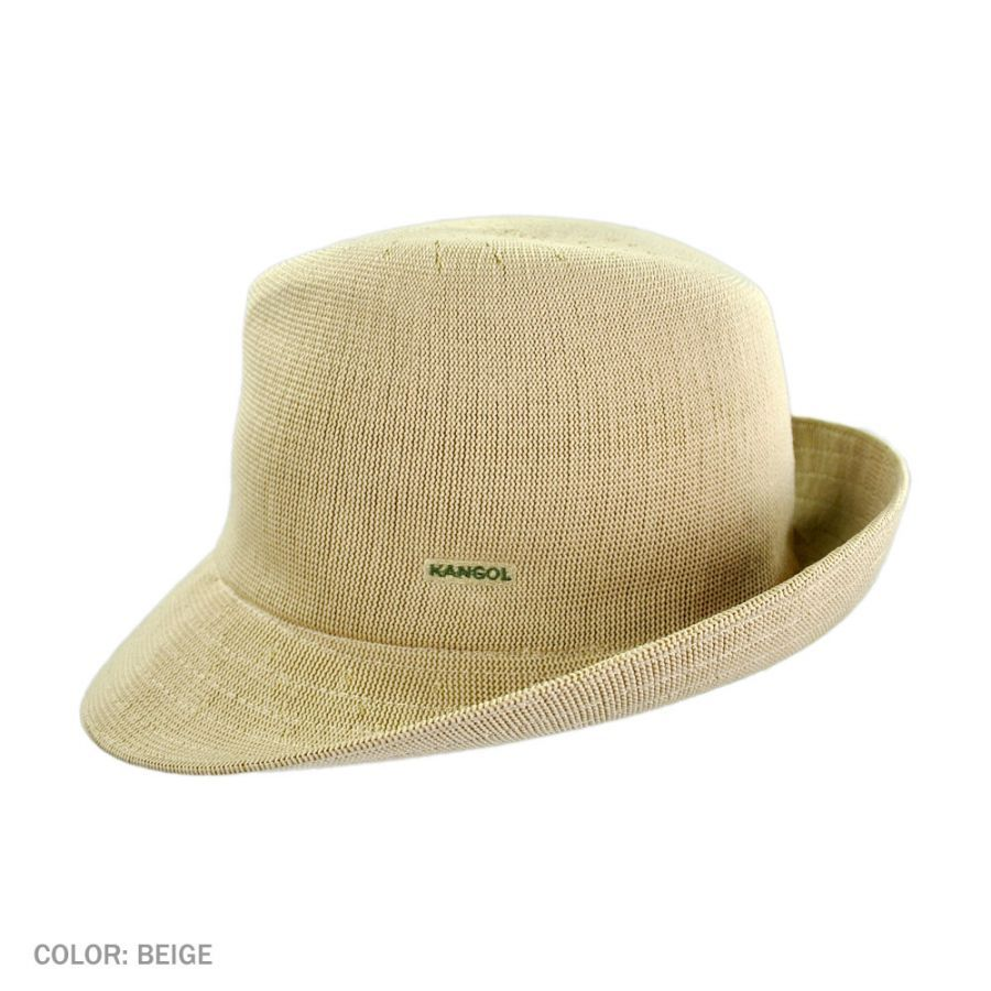 e78127158b658 Kangol Hiro Trilby Fedora Hat Fabric