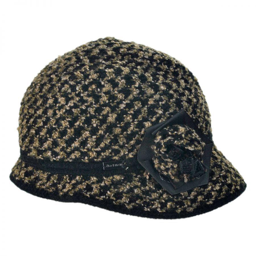 0f170a3f36e Betmar Willow Knit Cloche Hat Cloche   Flapper Hats