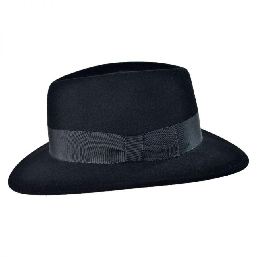 Pantropic Mens Litefelt Robin Fedora Hat