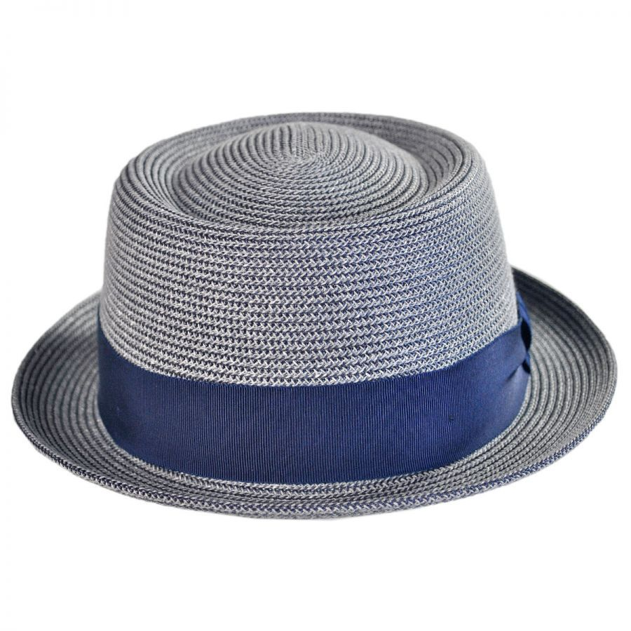 ... a1864 fd923 Waits Sewn Braid Straw Pork Pie Hat in new lower prices ... d69a65751f4