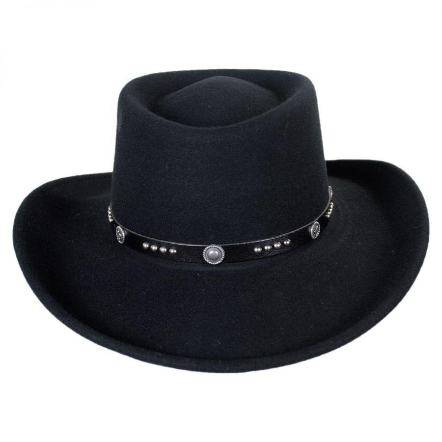 Joker LiteFelt Wool Gambler Western Hat