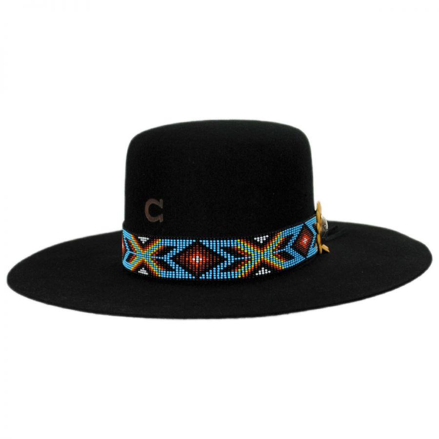 Charlie 1 Horse Outlaw Wool Felt Western Hat Cowboy