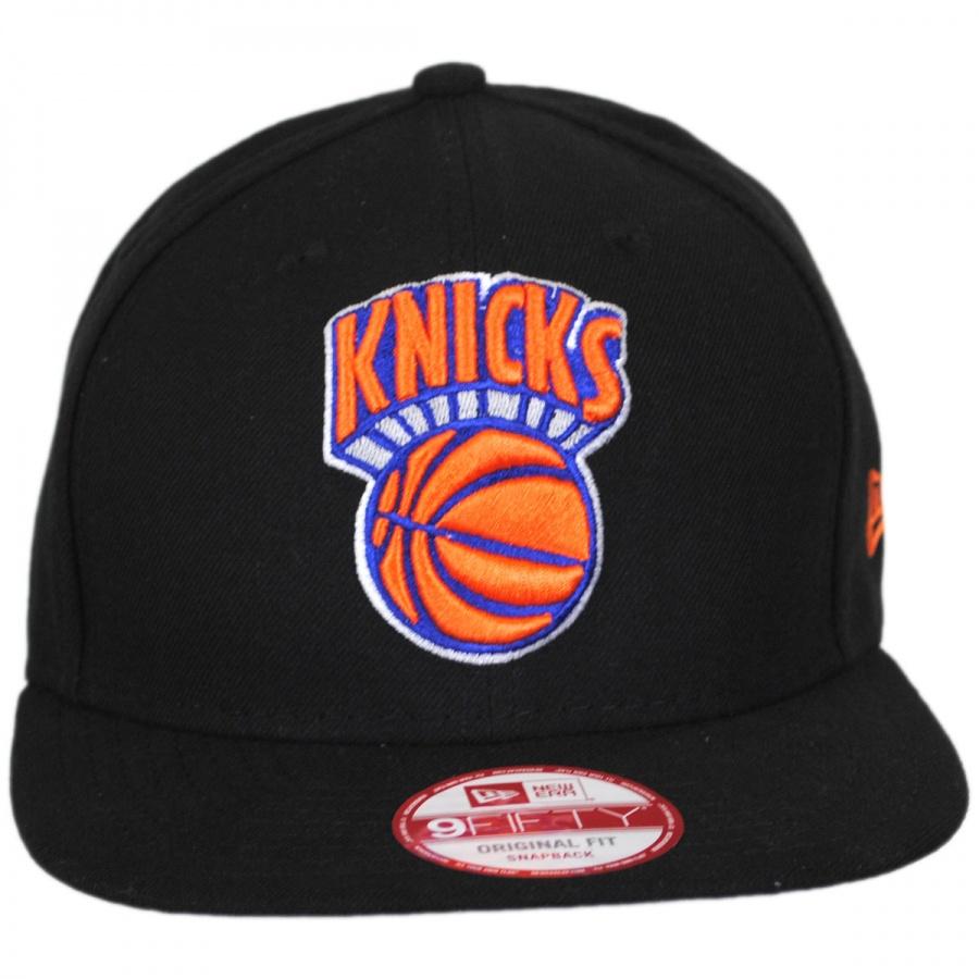New York Knicks NBA Hardwood Classics 9Fifty Snapback Baseball Cap in 4f8116ae5e1