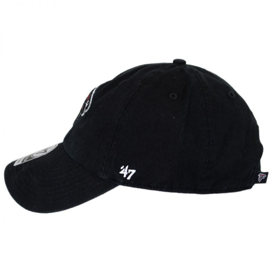 0dcf0ed9 47 Brand Atlanta Falcons NFL Clean Up Strapback Baseball Cap Dad Hat ...