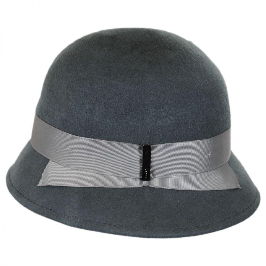 Betmar Alcott Wool Felt Cloche Hat Cloche & Flapper Hats