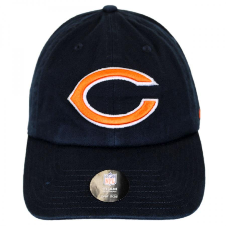 da1a79d9e4c 47 Brand Chicago Bears NFL Clean Up Strapback Baseball Cap Dad Hat ...