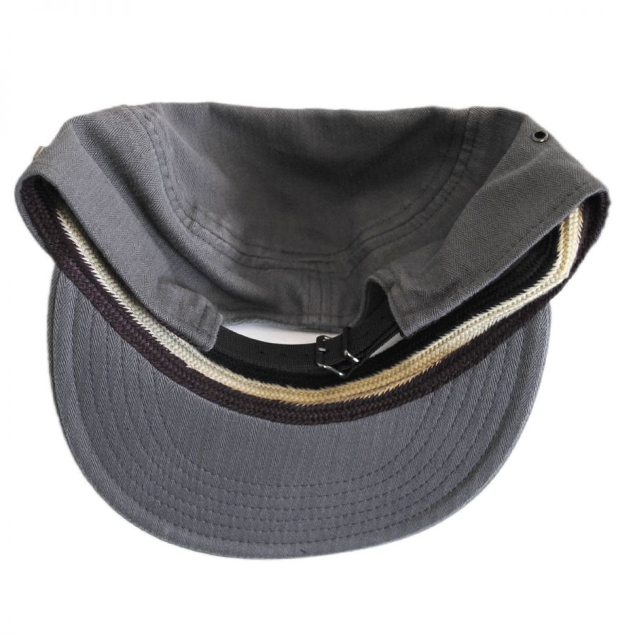 3fa8fe838b4 EK Collection by New Era Packable Cotton Military Cadet Strapback ...