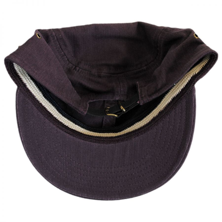 03c99904c04 Packable Cotton Military Cadet Strapback Cap in · Packable Cotton Military  Cadet Strapback Cap in · EK Collection by New Era