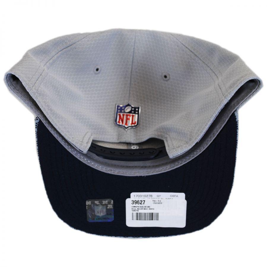 0f05bd95f63 New Era Dallas Cowboys NFL Sideline 9FIFTY Snapback Baseball Cap NFL ...
