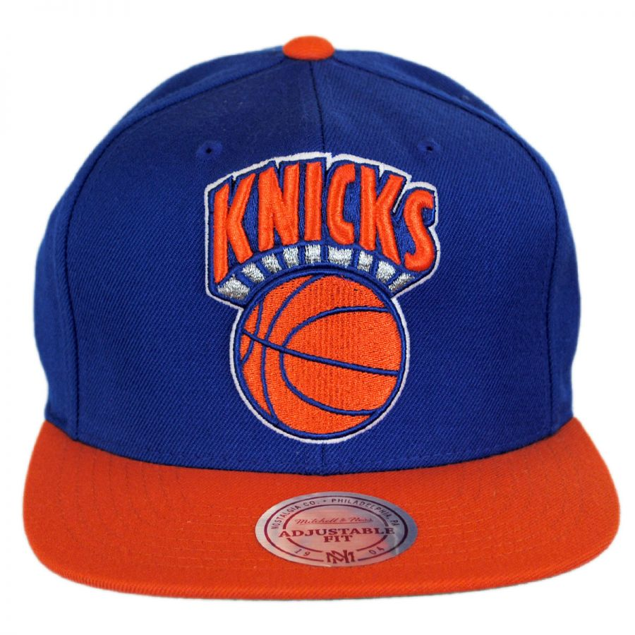 the latest df6a1 7fd28 ... alternate view 1 · New York Knicks NBA XL Logo Snapback Baseball Cap in