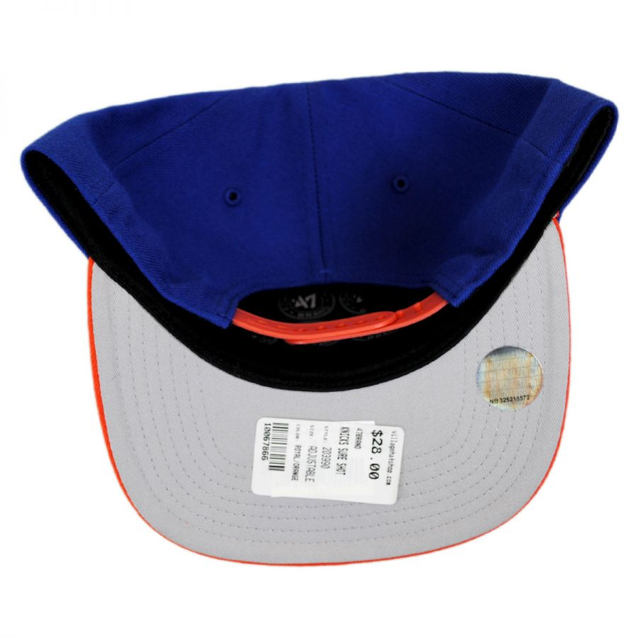 5b570bb0471643 47 Brand New York Knicks NBA Sure Shot Snapback Baseball Cap NBA ...