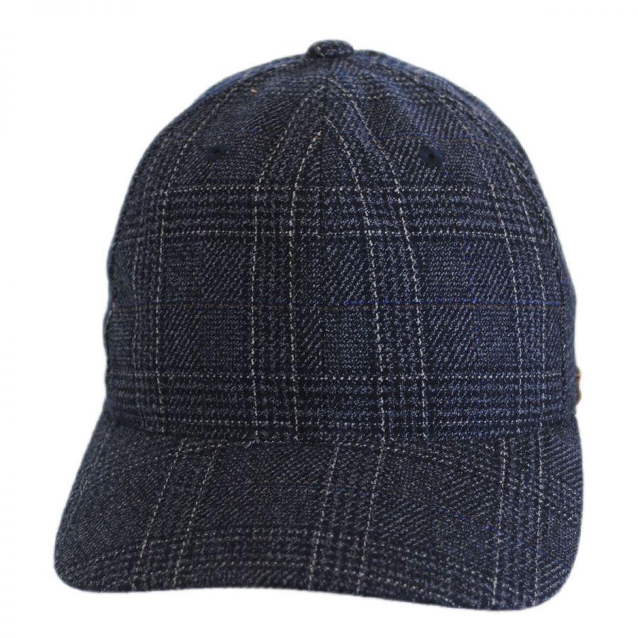 kangol check flexfit baseball cap fitted baseball caps. Black Bedroom Furniture Sets. Home Design Ideas