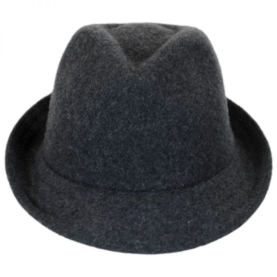 Kangol Wool Arnold Trilby Fedora Hat Crushable 59ec2b7b3d00