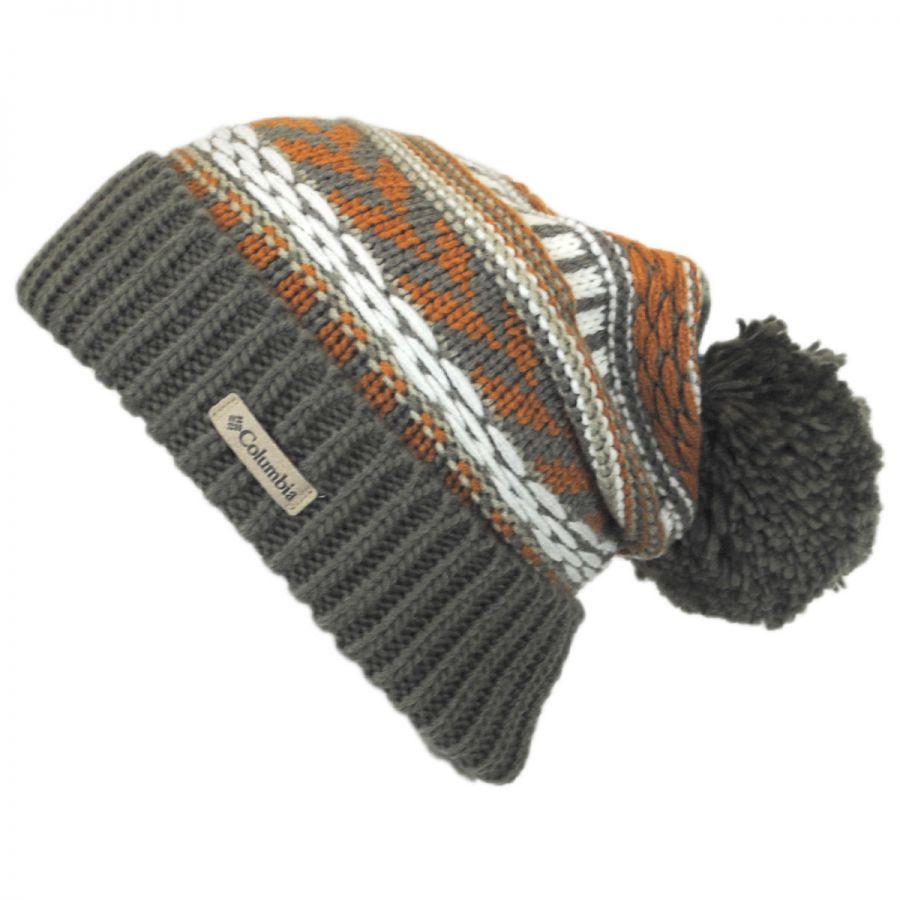 ec0ec1b0a99 Columbia Sportswear Stay Frosty Pom Knit Beanie Hat Beanies
