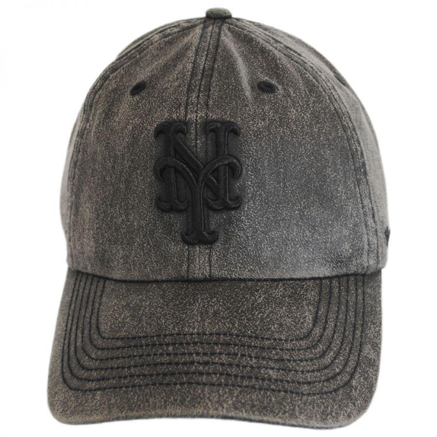 reputable site 06b20 1d024 New York Mets MLB Caliper Clean Up Strapback Baseball Cap Dad Hat in