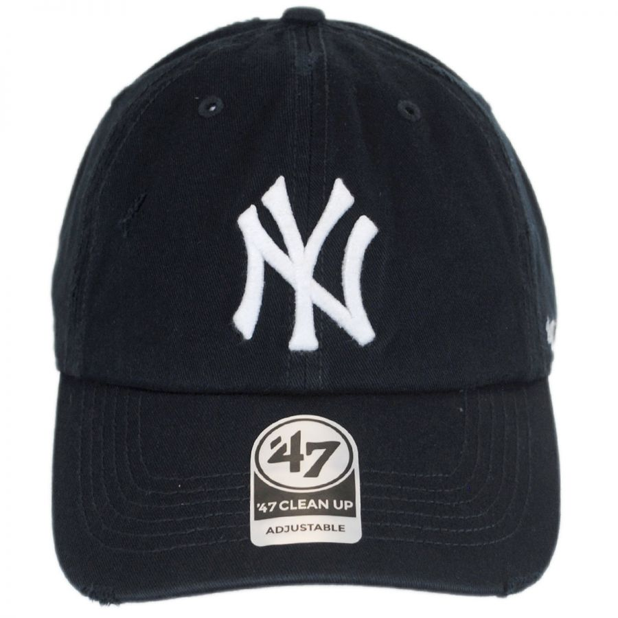 48d722b88f1 47 Brand New York Yankees MLB Ridge Clean Up Strapback Baseball Cap ...