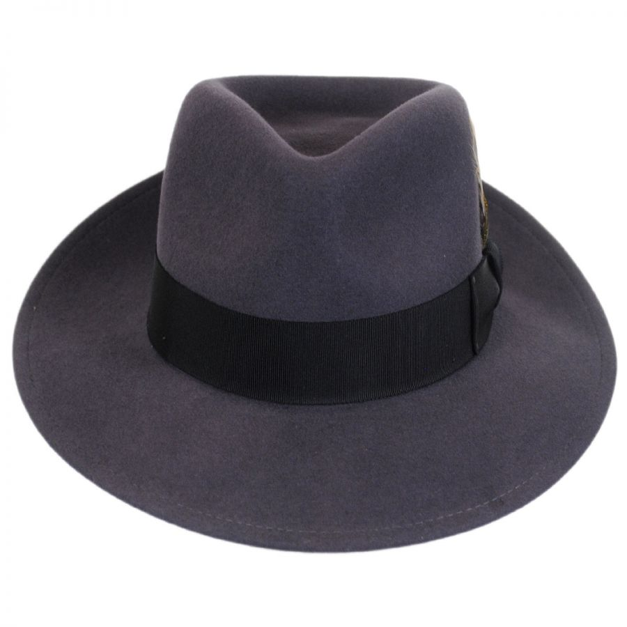 Bailey Packable Wool LiteFelt Fedora Hat - VHS Exclusive Color Crushable 436f71ddd7b