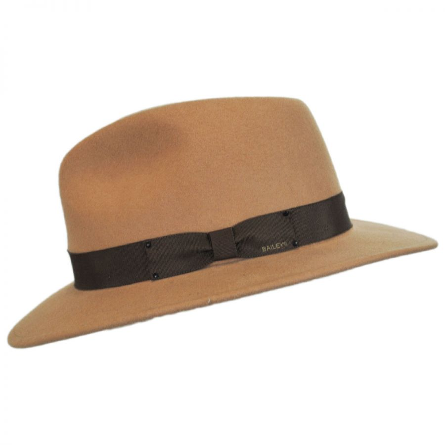 491d0a9b072fb Bailey Curtis Wool Felt Fedora Hat - VHS Exclusive Colors All Fedoras