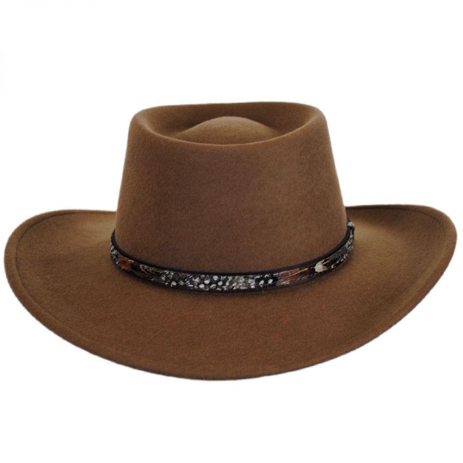 Stetson Kelso Crushable Wool Felt Gambler Western Hat Western Hats 135d582e0ab