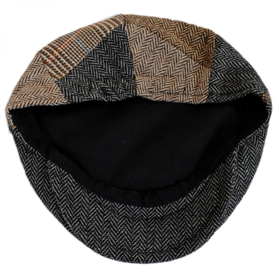 Jaxon Hats Kids  Herringbone Patchwork Ivy Cap Kids Flat Caps 205d522a42